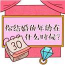 趣味测试:测你的结婚年龄