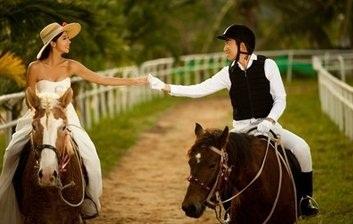 梦见恋人骑马