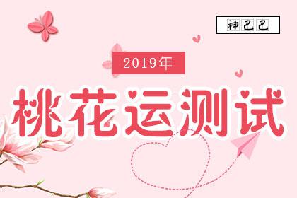 2019年桃花运测试