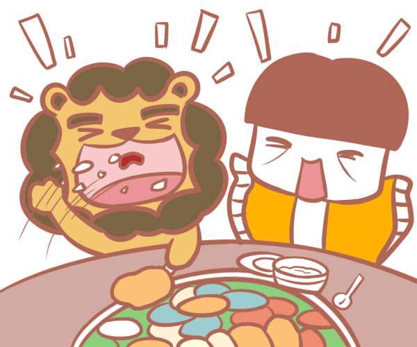 狮子座遇到美食的表现是什么