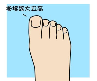 怎么样的脚型是富贵命?