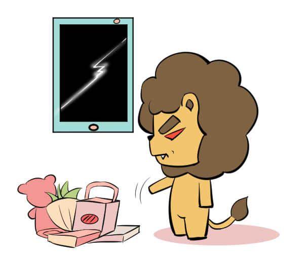 狮子座不开心会怎么样?将坏情绪宣泄出来!