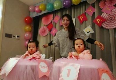 杨威双胞胎女儿近照 杨威八字命理分析