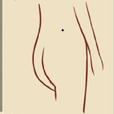 腰部有痣代表什么图解