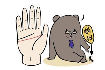 智慧线横贯手掌的人经常头痛,容易神经质!