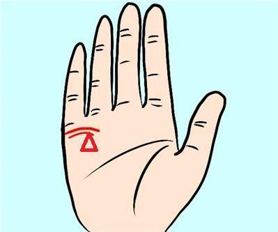 能聚财!婚姻线末端有三角形好不好?