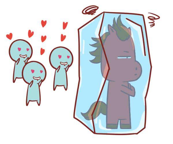 简单爱真的是属马的爱情观吗?