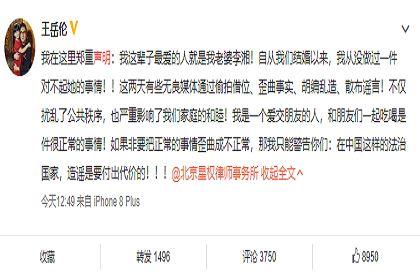 李湘老公王岳伦发表声明,名人李湘八字命理分析