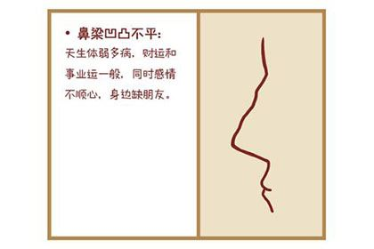 鼻梁起节,性格强势的女人面相分析