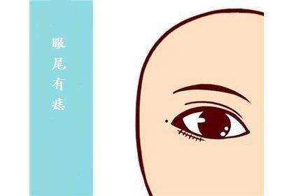 男人眼尾有痣好不好?很容易被外界所诱惑