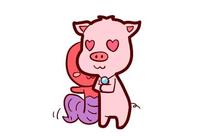 2021年屬豬人的全年運勢查詢:感情得金輿貴人助力!