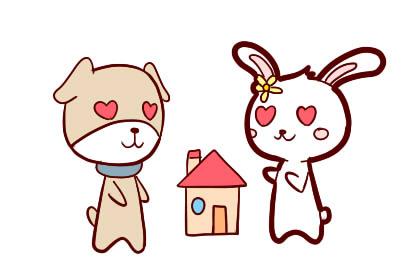 属兔女和十二生肖婚配详情:哪些生肖男和属兔女最配