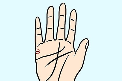 手相婚姻线弯弯曲曲代表什么意思?