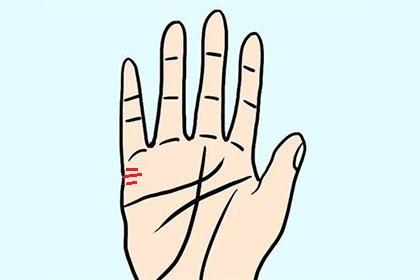 男人手相姻缘线有三条代表什么,感情生活丰富多彩?