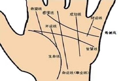 手相生命线细长代表什么意思?
