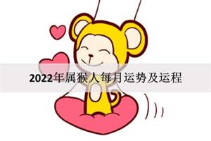 2022年属猴人每月运势及运程:财运亨通?