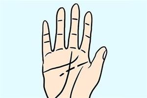 手相智慧线断开分了三段,需警惕头部疾病!