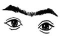 连心眉女人的面相分析,人品和性格怎么样?