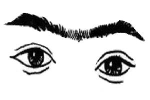 连心眉男人的性格如何?嫉恶如仇,不过容易意气用事