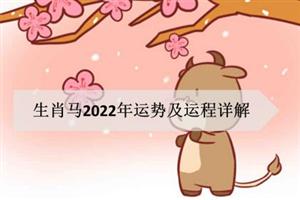 生肖马2022年运势及运程详解