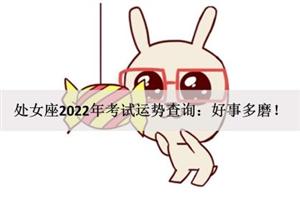 处女座2022年考试运势查询:好事多磨!