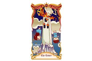 塔罗牌中塔牌是在预示灾难吗?塔正位逆位各有什么含义?