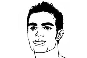 眉毛粗,缺乏柔?#25512;?#36136;的男人面相分析