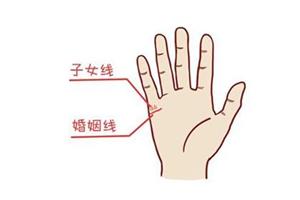 手相子女线深代表什么意思?
