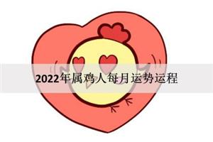 2022年属鸡人每月运势运程:一帆风顺?