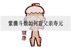 紫薇斗数如何看父亲寿元,看疾厄宫?