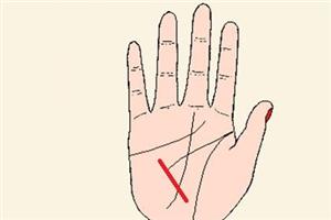 健康线出现岛纹什么意思,手相中的健康线该如何看?