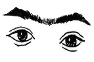面相分析连心眉的女人性格如何,命运怎么样?