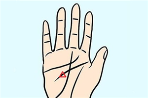 手相解析三角纹是什么,智慧线上有三角形纹路好吗?