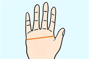 手相分析女人有断掌纹的命运如何