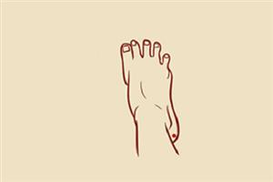 痣相分析男人脚后跟有痣代表什么意思?黑痣代表厄运?