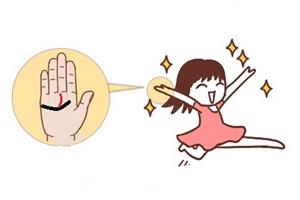 手相感情线怎么看感情?中间分叉表示有几段正缘