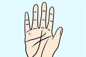 星纹手相是什么样的,出现在手掌心有何寓意?