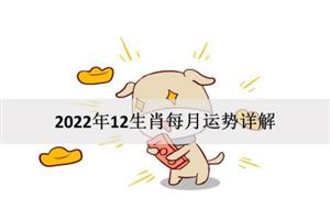 2022年12生肖每月运势详解:哪些属相运最好