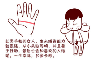 手掌是断掌有何说法,断掌的人必定大富大贵吗?