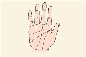 十字纹手相的解读,教你分清正十字纹和斜十字纹!