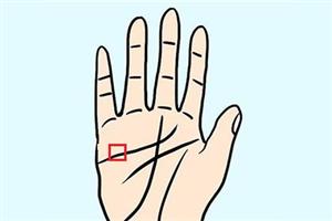 手相解析口字纹是什么,感情线上有口字纹好吗?