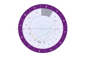 占星分析金星落在第九宫(迁移宫):信仰宗教,喜爱艺术!