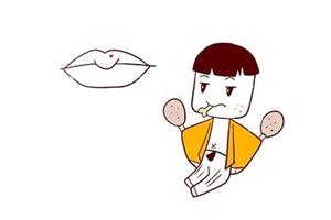 面相分析男人上嘴唇有痣,代表什么意思?