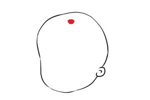 胎记长在头顶上有什么说法,一生平安富贵?