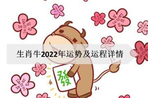 生肖牛2022年运势及运程详情