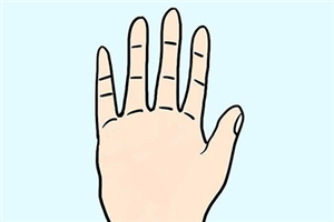 五个手指代表什么意思,对性格和命运有什么影响?