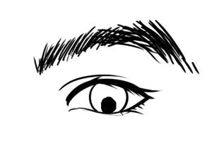 面相分析三白眼的女人怎么样,性格强势做事干练?