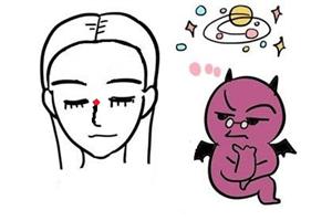 女人山根有痣代表什么意思?易有感情困扰?