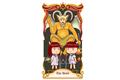 塔罗牌恶魔象征着不伦之恋?恶魔正位逆位意味着什么?
