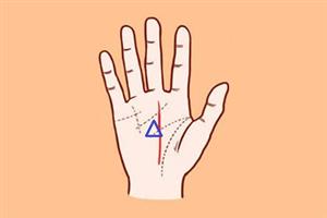 手相事业线上有三角纹代表什么意思?